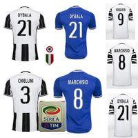 Wholesale Best quality Send Free Juventus jerseys pogba DYBALA HIGUAIN buffon pogba DYBALA HIGUAIN