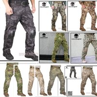 airsoft tactical pants - Emerson G3 Combat Pants Tactical bdu Military Army Airsoft wargame Trousers TYP AOR2 MR AOR1 AT FG HLD MCBK MCAD Badland