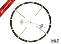 antique steering wheels - MLF reg Steering Wheel Clock George Nelson Designed Antique Retro Wall Clock All Nelson Series Available