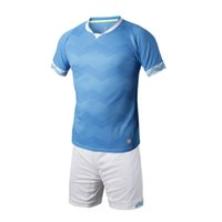 Wholesale Sportswear Men Running Jogging clothing football soccer sets BADMINTON WEAR SETS SHORT SLEEVE JERSEY AND SHORTS