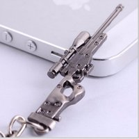 awp rifle - Novelty Items Counter Strike AK47 Guns Keychain Trinket Awp Rifle Sniper Key Chain Key Ring Jewelry Souvenirs Gift Men Llaveros