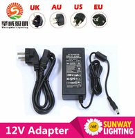 Wholesale Promotional Hot sale AC DC Adapter Converter DC V A W Power Supply Charger for SMD LED Strip light