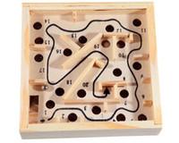 Classique pour les jeux d'enfants France-Jouet en bois en gros de jouet - Labyrinthe - Balance Board