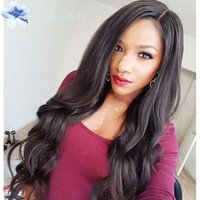 Wholesale Glueless Full Lace Front Human Hair Wigs Brazilian Body Wave High Density Full Lace Human Hair Wigs For Black Women