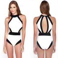 Sexy congelada Preços-Swimwear mais tamanho mulher um pedaço swimwear congelar sexy um pedaço swimsuit empurrar para cima bikini sutiã banhar terno cintura alta swimwear para a mulher