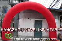 Wholesale 6m Inflatable outdoor arch for event advertising with blower
