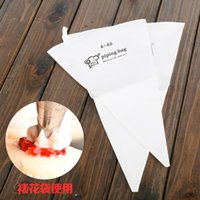 baking cloth - New Pastry bags cm Re usable cotton cloth cake decorating bag cookie icing piping bag baking tools dhl