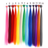 Wholesale Straight Synthetic Hair Tip ps Stick I Tip Fusion Hair Extensions