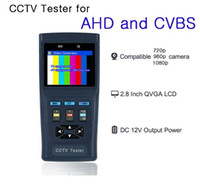 automatic identification - AHD Analog P CCTV Tester Automatic identification AHD and CVBS adaptive NTSC and PAL with Digital multimeter