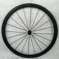 Wholesale 38mm depth Carbon Road Bike Tubeless wheelset super light road bicycle wheels Kind of hubs choice