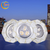 Wholesale led downlight Crystal downlight recessed corridor lamps High LED w ceiling lights surface mounted led downlight