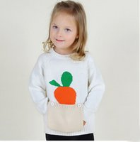 Wholesale 2016 Hot Pockets Design Sweaters for Children Pullover Baby Girls Cardigans Long Sleeve Top Kids Boys Clothes