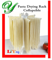 Wholesale Pasta Drying Rack Spaghetti Dryer Stand Tray collapsible noodle making machine ravioli maker attachment kitchen gadget tools storage shelves