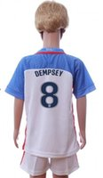 jerseys for kids - 2017 dempsey united states USA soccer jersey football jersey kits for kids children youth