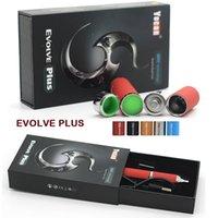 Cheap 100% Original Yocan Evolve plus Kit 1100mAh Updated Version of Evolve Vaporizer Wax Pen Vaporizer Pen Quartz Dual Coil E Cigs Fast Shipping