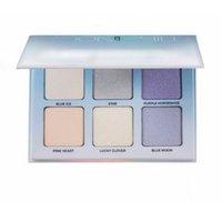 Wholesale 2016 New Brand Makeup Moonchild Glow Kit Moonlight Ice Blue Highlighter Ocean Face Eye Shadow Highlights Bronzer