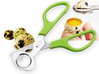 Wholesale Pigeon Quail Egg scissor Bird Cutter Opener Kitchen Tool Clipper Cigar Cracker Blade