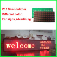 Wholesale Hot sell V P10 led display module semioutdoor usage pixels for advertising signage led display screen