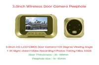 Wholesale 100 Brand Wide Angle inch LCD Digital Peephole Viewer Door Eye Infrared Video Camera With Low Price