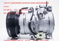 Wholesale auto air compressor for Lexus ES Toyota CAMRY