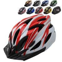 Wholesale New Sport Cycling Helmet Ultralight Sport Bike Helmets Breathable Mountain Road Bike MTB Bicycle Integrally Molded Helmets H1023
