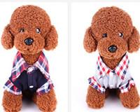 La ropa caliente del animal doméstico de la camiseta del abrigo del perrito del suéter de la rejilla del gato del perro libre del envío arropa la ropa del animal doméstico del perro del chaleco del perro de animal doméstico de la ropa del ocio del perro