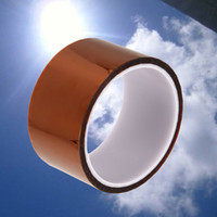 Wholesale mm High Temperature Resistant Tape Roll mm m Heat Resistant Adhesive Polyimide Insulation Thermal Tape For BGA
