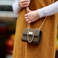 bags ground - Grind Arenaceous Fashion Mini Party Flap Autumn Women Winters Bag Chain Bag Fashion Shoulder Bag Worn Small Bag