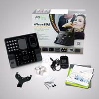 Wholesale ZKsoftware Iface102 card reader door lock fingerprint time attendance scanner with USB Biometric door access control time recording device