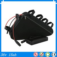 battery bicycle price - Wholsale price good quality triangle bag bicycle batterie v ah lithium battery