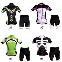 cycling jersey wholesale - Original WOSAWE Summer Women Man Cycling MTB Short Sleeves Jersey Bike Bicycle Jersey Sets Shirts Padded Cycling Wear New Arrival
