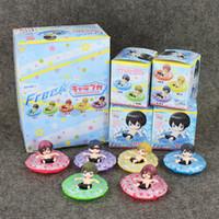 anime rei - Anime Cartoon Free Haruka Nanase Makoto Tachibana Rin Matsuok Nagisa Hazuki Rei Ryugazaki PVC Action Figure toy retail