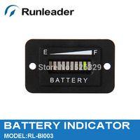 battery for golf car - Lead acid storage battery Car golf carts forklift Battery charge discharge Indicator V led three color display