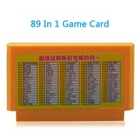 Wholesale 89 in Game Cartridge pin game card for bit D99 D31 tv video game player drop shipping