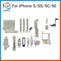 Wholesale For Apple iPhone G S C SE Ear Speaker Earpiece Metal Cover Plate Bracket Holder Repair Small Parts Replacement