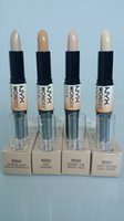 Wholesale new hot cheap NYX Wonder Stick Concealer Eye Face Makeup Cover Women Med Tan Highligher Colors