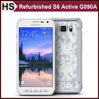 active cameras - Original Refurbished Samsung GALAXY S6 Active G890A AT T Version G LTE Android Smart Phone quot Octa Core GB GB MP Unlocked DHL