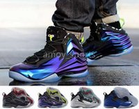 cheap high quality athletic shoes - 2016 New Chuck Posite Men Basketball Shoes Cheap High Quality Retro Charles Barkley Sneakers Sport Shoe Outdoor Athletic Boots Size