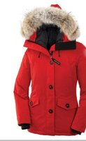 Wholesale Women thick down jacket White duck down warm Winter hooded coats women from outdoor clothing brand goose Plus size Outdoor down jacket