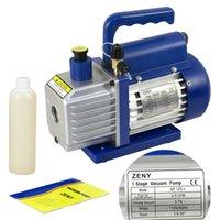 Wholesale R410a R134 CFM Rotary Vane Vacuum Pump Single Stage CFM HP HVAC Air tool