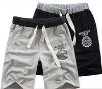 Wholesale Men Women Couple Shorts Gym Running Couples Leisure Casual Pure Cotton Breeches Sport Basketball Beach Plus Size Short Pants Trousers