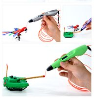 Wholesale 3D Printing Pen v3 With OLED Screen ABS PLA