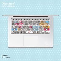 Wholesale Chi s Laptop Skin Decals Keyboard Skin Cover Decal Sticker Protector for Macbook Pro Air Inches