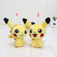 Wholesale cm New Cute Pikachu Plush Doll Plush Keychain plush pendant For Children Best Birthday Gift