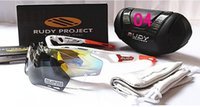 aluminum project box - 2016 NEW Project TRALYX Sunglasses Mens With Boxes Rudy Glasses Sports glasses riding Polarizing Cycling Eyewear