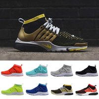 barefoot sneaker - Women Men Air Mesh Presto Ultra Fly Line Knit Barefoot Running Sneakers Casual Shoes Trainers Jogging Zapatos Size Eur
