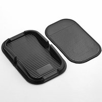 auto mats rubber - Rubber Proof Anti Skid Sticky Pad Dash Non Slip Auto Car Dashboard Interior Mat Holder For GPS MP3 MP4 Mobile Iphone Cell Phone W044
