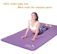 Wholesale Extra strong and widening Exercise Yoga Mat Pad Non Slip Lose Weight Exercise Fitness Folding Gymnastics Mat