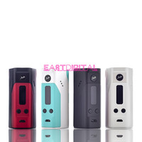 Wholesale 100 Authentic Wismec Reuleaux RX200 TC Mod Powered By Joyetech Chip Wismec RX200 vs Reuleaux RX75 RX200S