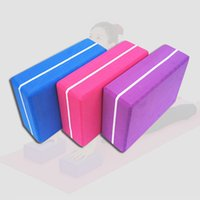 Wholesale Good Quality Yoga Block Brick Foaming Foam Pilates Exercise Gym Tool Home Fitness Lightweight Non Slip EVA Yoga Blocks MD0024 kevinstyle
